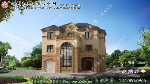 椒江区三层法式风格别墅