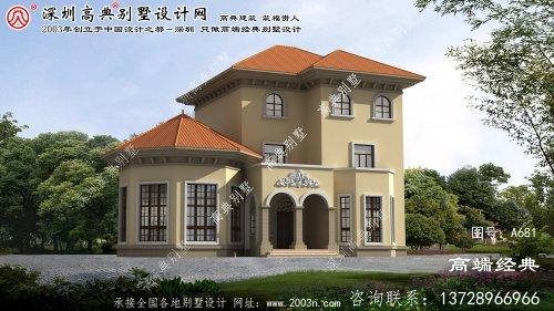 颍东区三层楼房设计图,房型經典