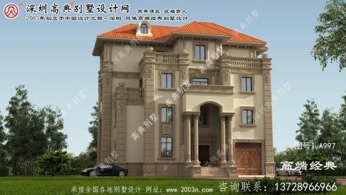 兴国县欧式风格四层别墅