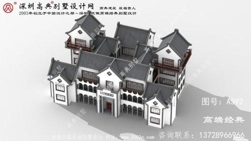 宝山区三层房屋设计图