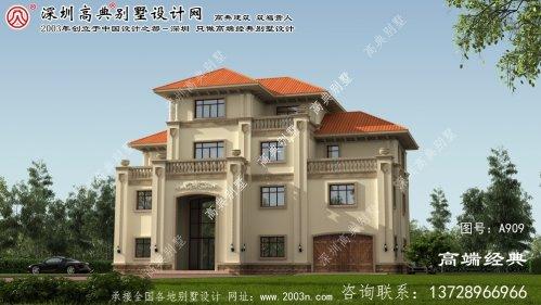 新县别墅花园设计图片