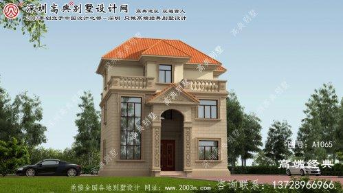 黄梅县最美别墅图纸