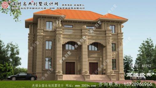 安仁县别墅户型设计图纸
