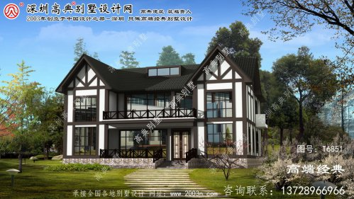 南川市农村自建房设计图两层