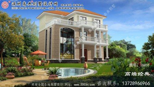 綦江县乡村大别墅的设计图