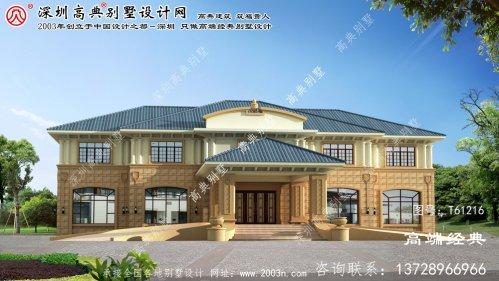 长宁县别墅两层设计