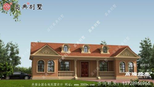 嘉义县自建房平面设计