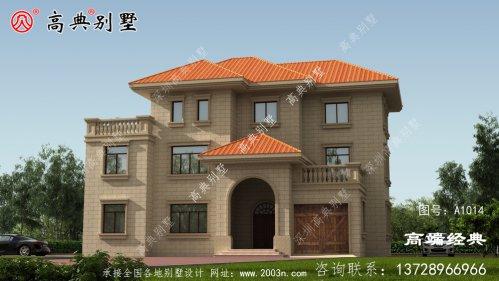 云林县自建房三层图纸