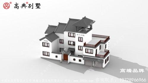 农村房设计图布局设计精巧,居住体验