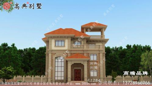 131平别墅设计图太惬意了!