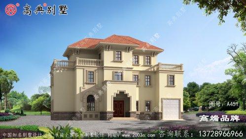 农村自建房子设计图好看实用造价不高!