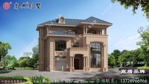 乡村房屋设计图纸想建得不好看都难