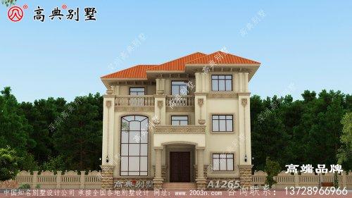 美观实用经济必须选简欧风格别墅