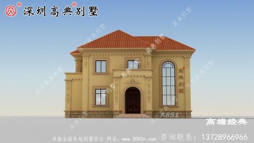 别墅设计图,造价低,外观好看,布局