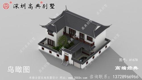 二层豪华别墅,农村200平米自建房图,