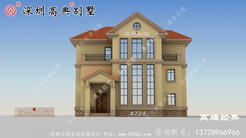 这个三层别墅,农村有地的人快收藏去