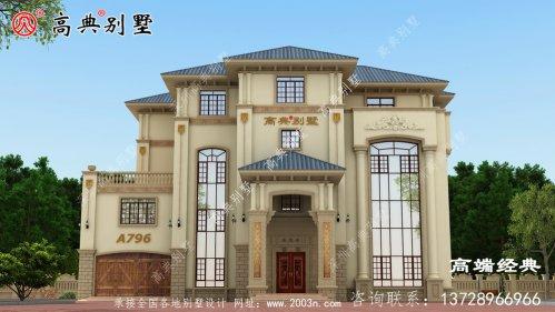大户型别墅这样做即美观又增加了室内