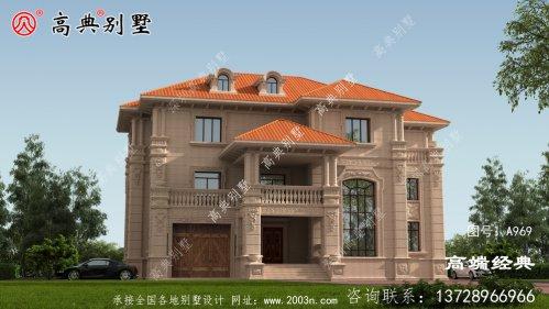 老家盖栋欧式别墅,满足对美好生活的