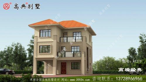 在乡下就该建这样的别墅,这套新欧式